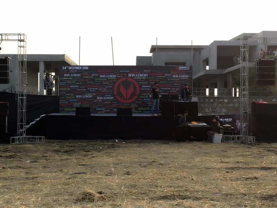 DJ Devmani at devlis circuit - Ahmedabad 2016