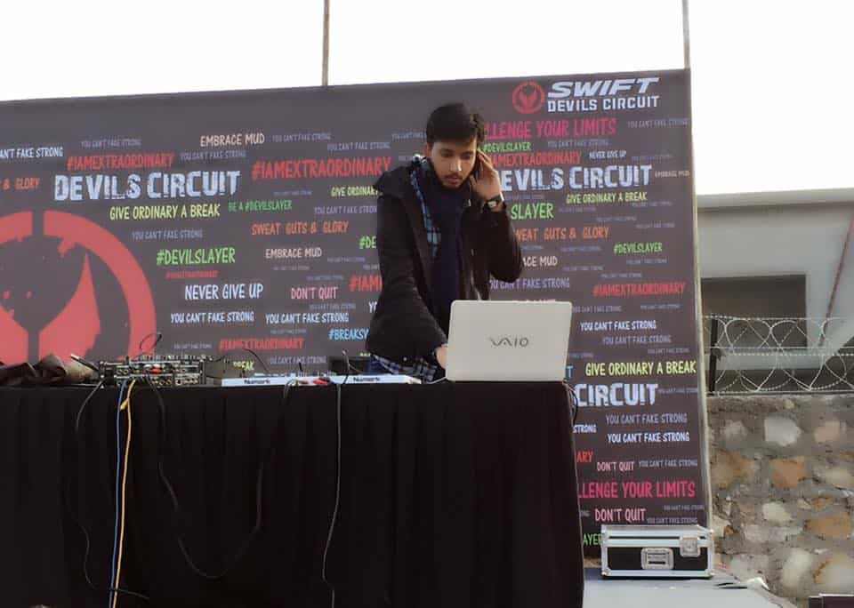 DJ Devmani sound check as official DJ kingsvilla party